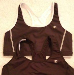 2 Womans champion sports bra